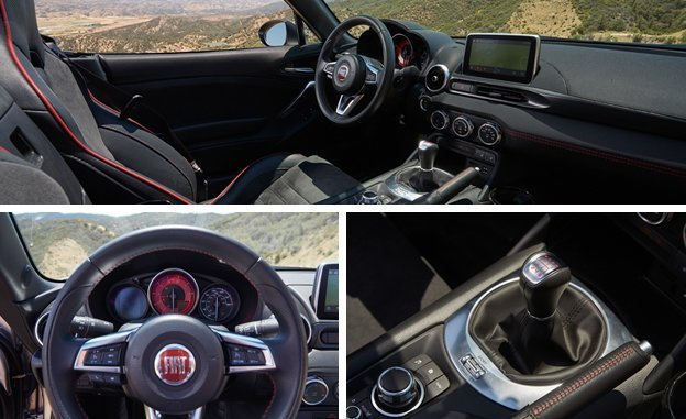 124 Spider Abarth S Chis With A Touch Of Entertaining Oversteer The Driver Sitting Only Barely Forward Rear Axle It Sweet Sensation