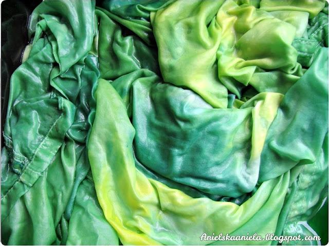 how to dye fabric without cooking /  Jak zafarbować ubranie bez gotowania ?