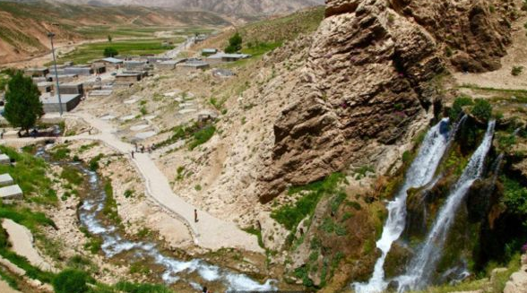 Ajaib Gletser Garam Yang Terletak di Iran