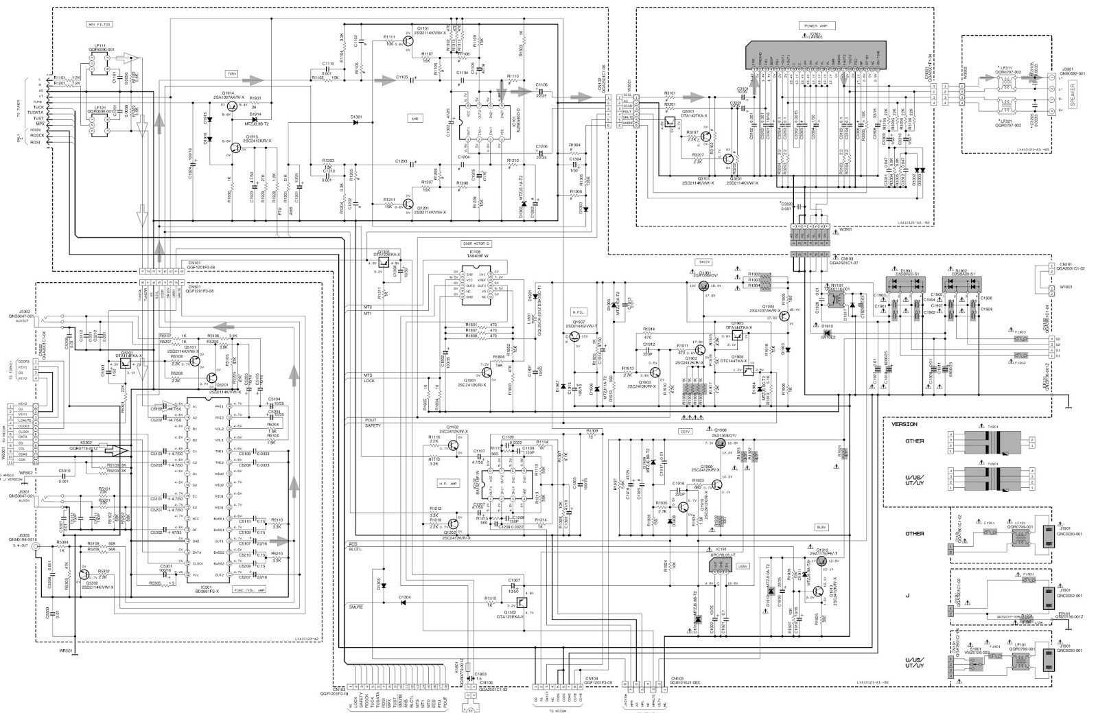 Circuit Diagram Jvc Tv Electrical Wiring Schematic Diagrams Rh Ogmconsulting Co For A Television Free