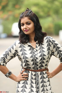 Swathi Reddy Looks super cute at London Babulu theatrical trailer launch ~  Exclusive 029.JPG