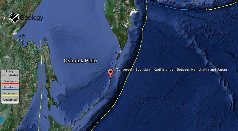 Kuril Islands   Geology Page