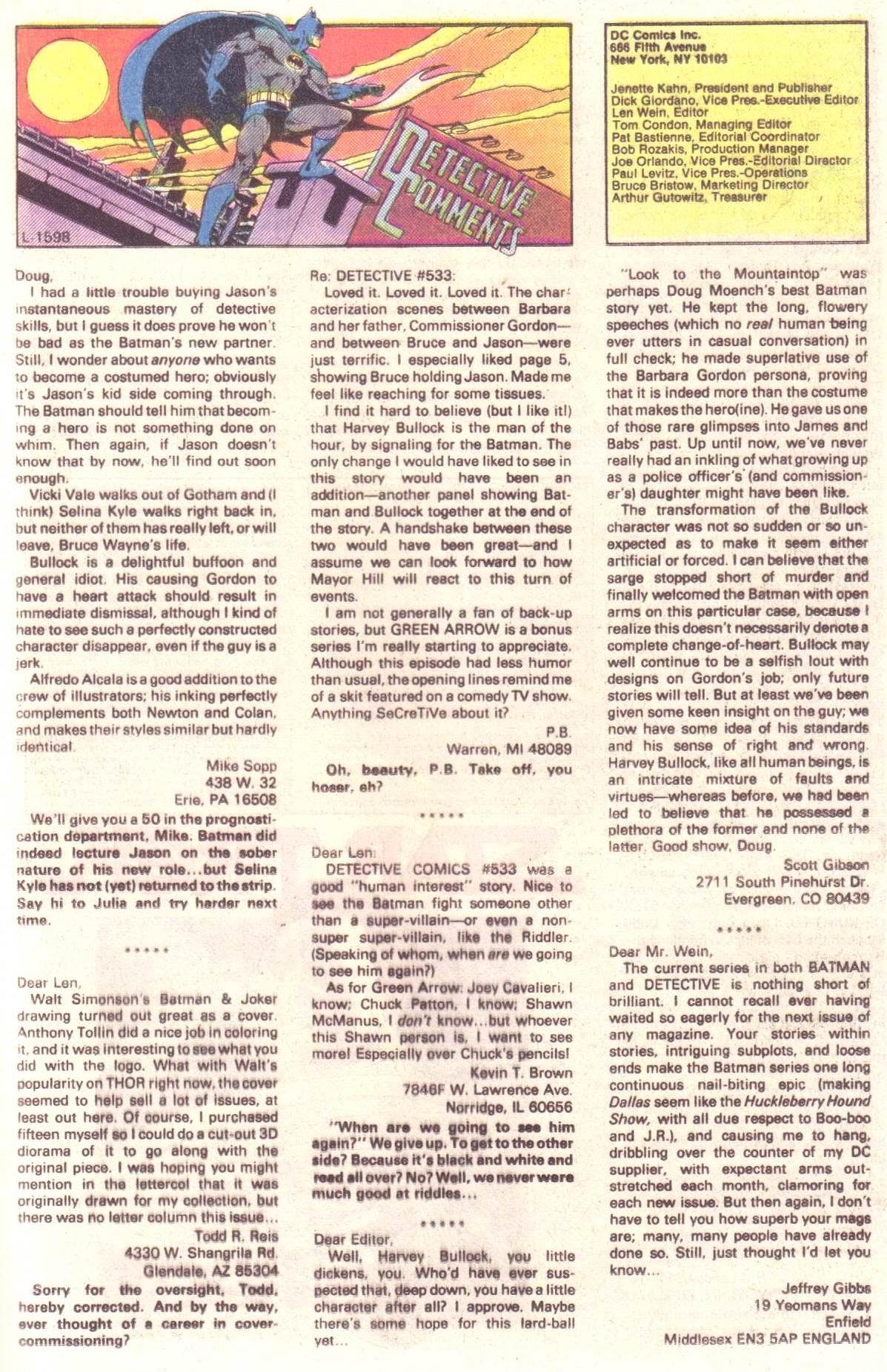 Detective Comics (1937) 537 Page 16