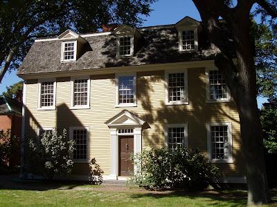 Crowninshield Bentley House Salem%252C Massachusetts