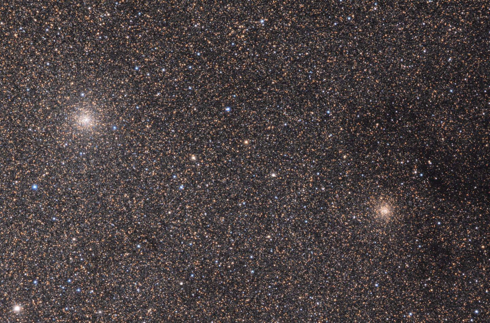 Ammassi globulari nel bulbo della Via Lattea