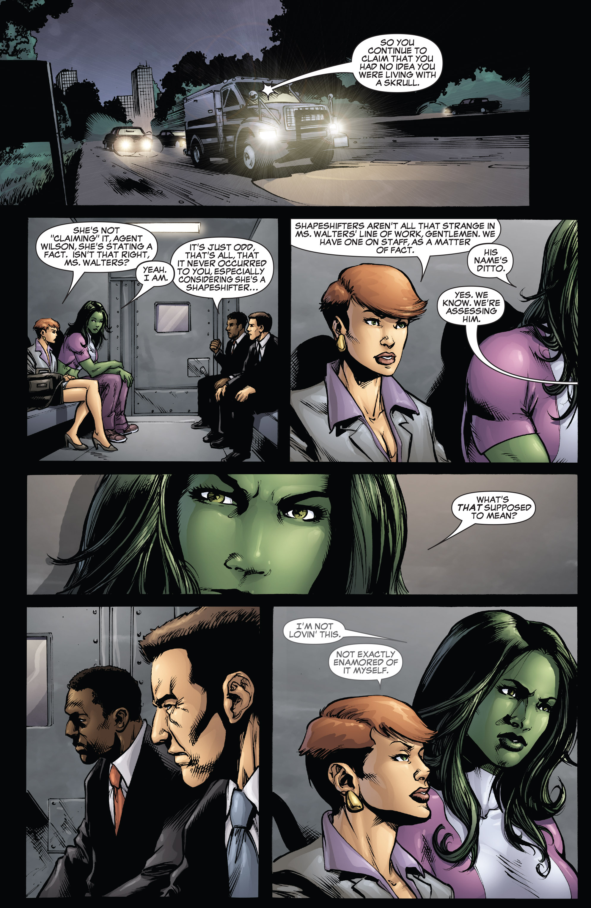 Read online She-Hulk (2005) comic -  Issue #38 - 15