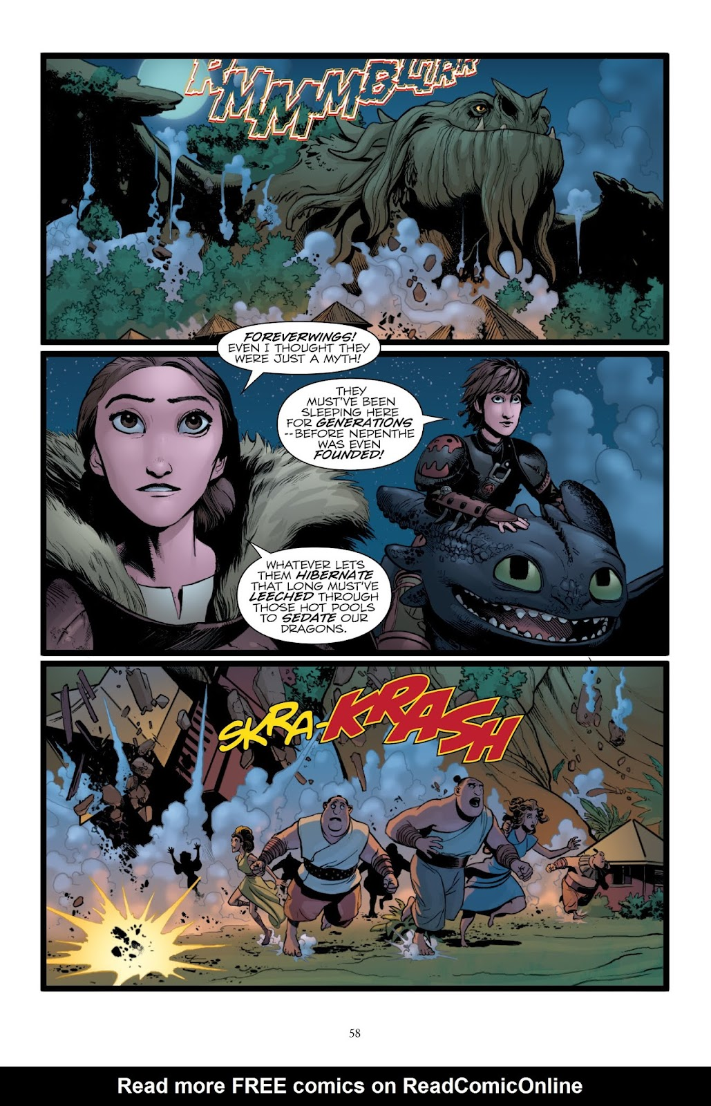 Read online How To Train Your Dragon: The Serpent's Heir comic -  Issue # TPB - 58