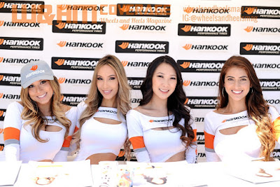Erica Juliet, Alexis Cortez, Nicky Park, and Lindsey Harrod as Hankook Girls