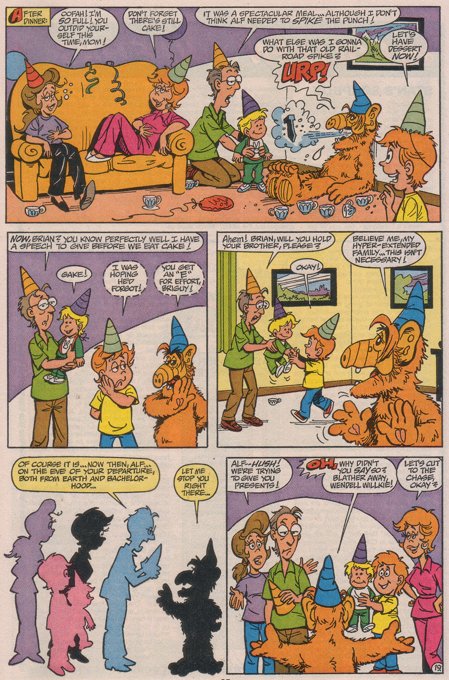 Read online ALF comic -  Issue #49 - 26
