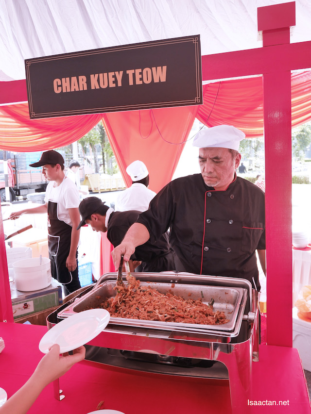 Don't forget the freshly fried Char Kuey Teow
