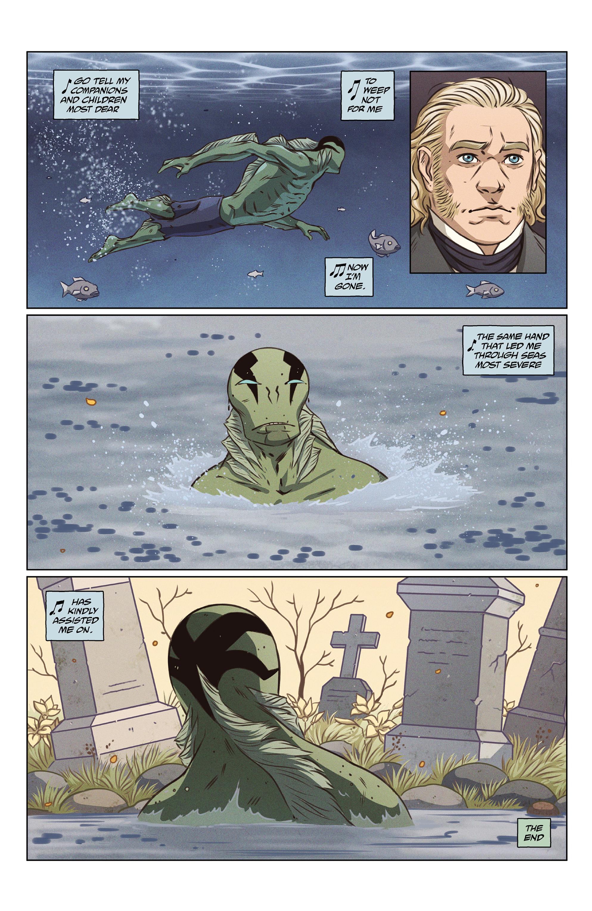 Read online Abe Sapien comic -  Issue #27 - 25