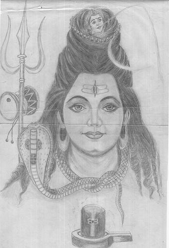 Pencil Drawing Hindu God Pencildrawing2019