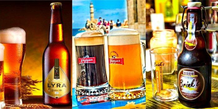 Le birre di Creta (Grecia)