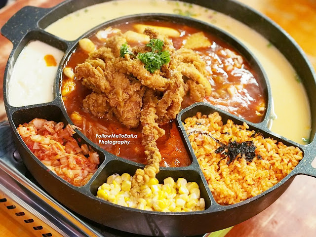 SNOW SQUID Topokki  RM 68 Sharing For 3 to 4 pax