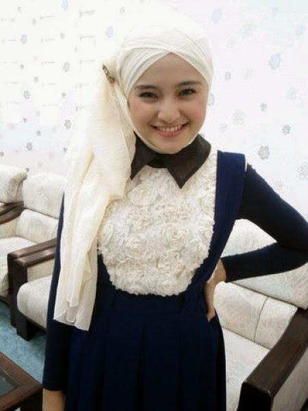 10 Contoh Model Baju Muslim Marshanda Terbaik 2015