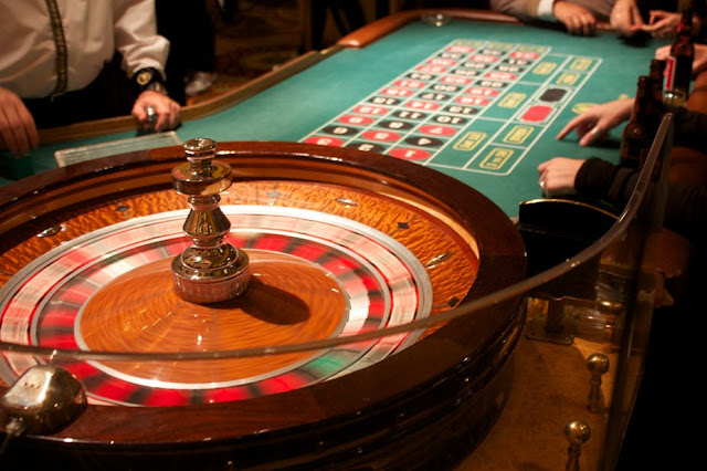 a real Roulette round