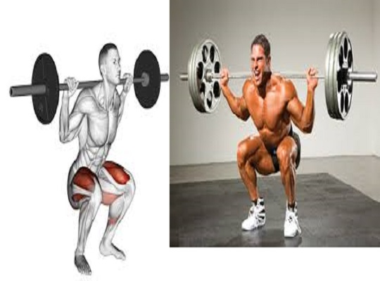Get Bigger, huge Legs With The Barbell Squat