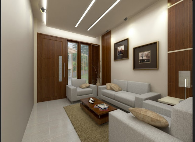 Menerapkan Model Interior Ruang Tamu Minimalis