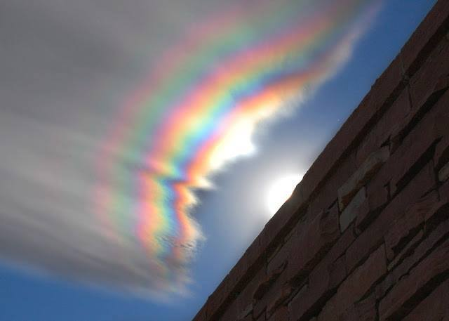 you meet someone who iridescent clouds