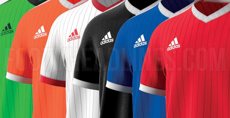 db25786a8c1 One of the four new teamwear templates Adidas is introducing for 2018 is  Tabela 18. Just like the other three, the Adidas Tabela 18 teamwear jersey  has been ...