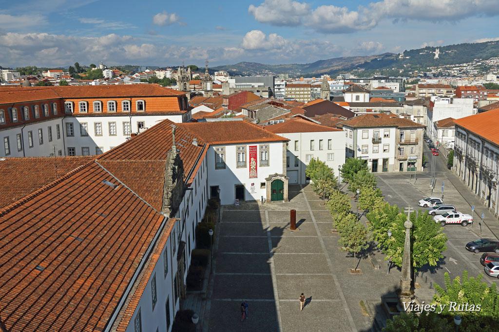Vistas desde Nuestra Señora de la torre, Braga, Portugal
