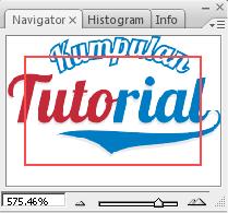 Mengenal Fungsi Pallete pada Photoshop, fungsi palet navigator