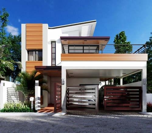 Desain Rumah Mewah 2 Lantai Modern Minimalis