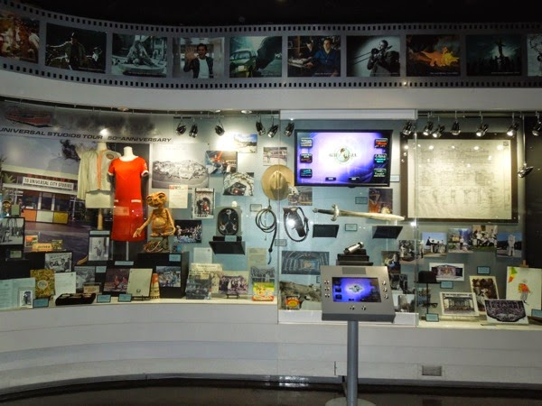 Universal Studios Tour 50th anniversary exhibit