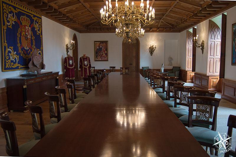 Salón del Castillo de Soutomaior,
