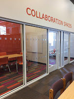 New collaboration rooms in Davis Library