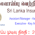 Vacancy In Sri Lanka Insurance