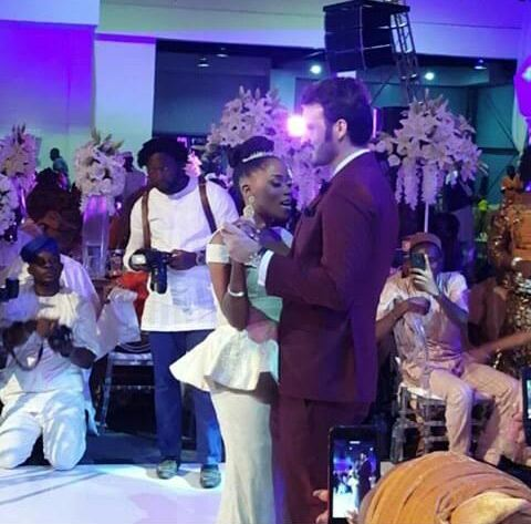 Tosyn Bucknor wedding photos