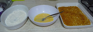 POLLO KATSU, pollo crujiente al horno con panko salsa tonkatsu cocina japonesa gastronomia japonesa pavo pechugas filetes