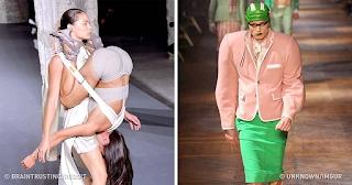 25 περίεργες τάσεις της μόδας που μας άφησαν με το στόμα ανοιχτό