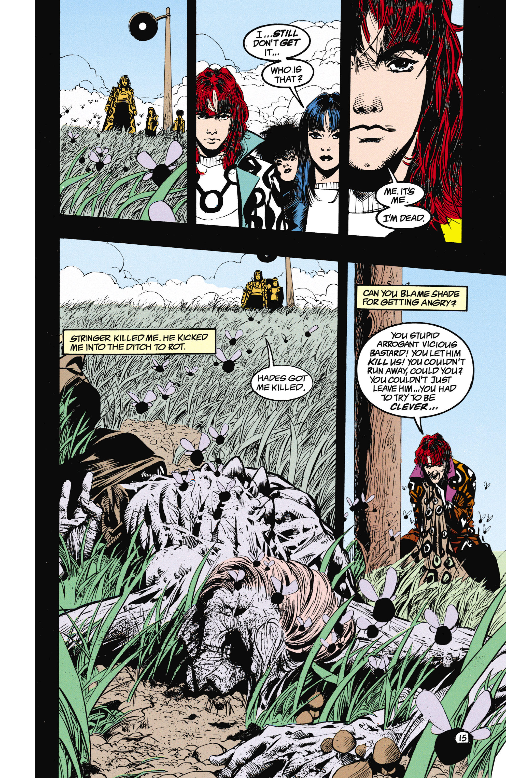 Read online Shade, the Changing Man comic -  Issue #25 - 16