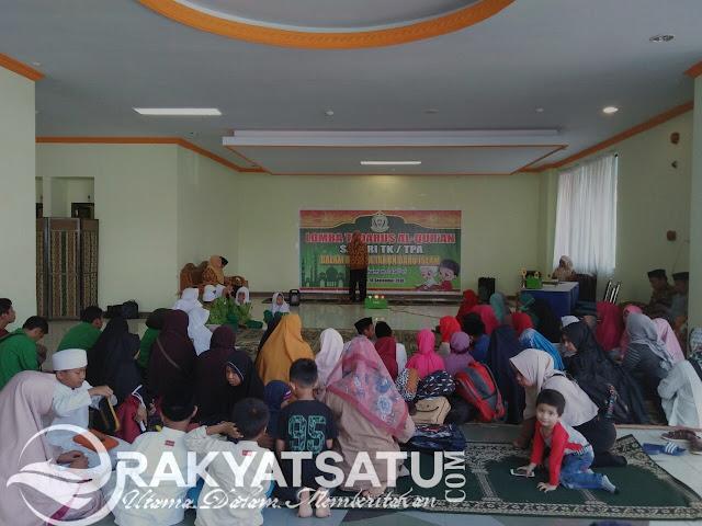 Lomba Tadarus Tingkat Kabupaten Tana Toraja, Dimenangkan oleh Kecamatan Makale