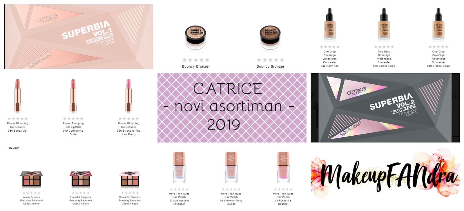 Catrice novi asortiman 2019