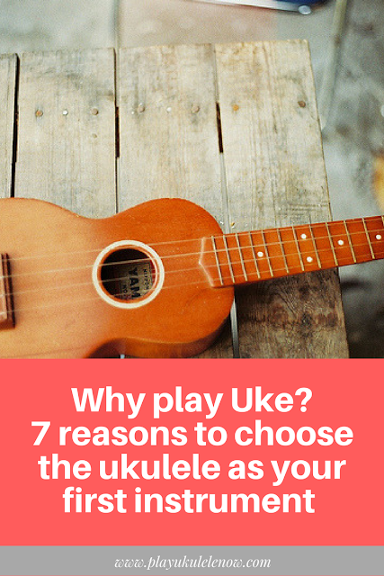 Why play uke? 7 reasons to choose ukulele as your first instrument