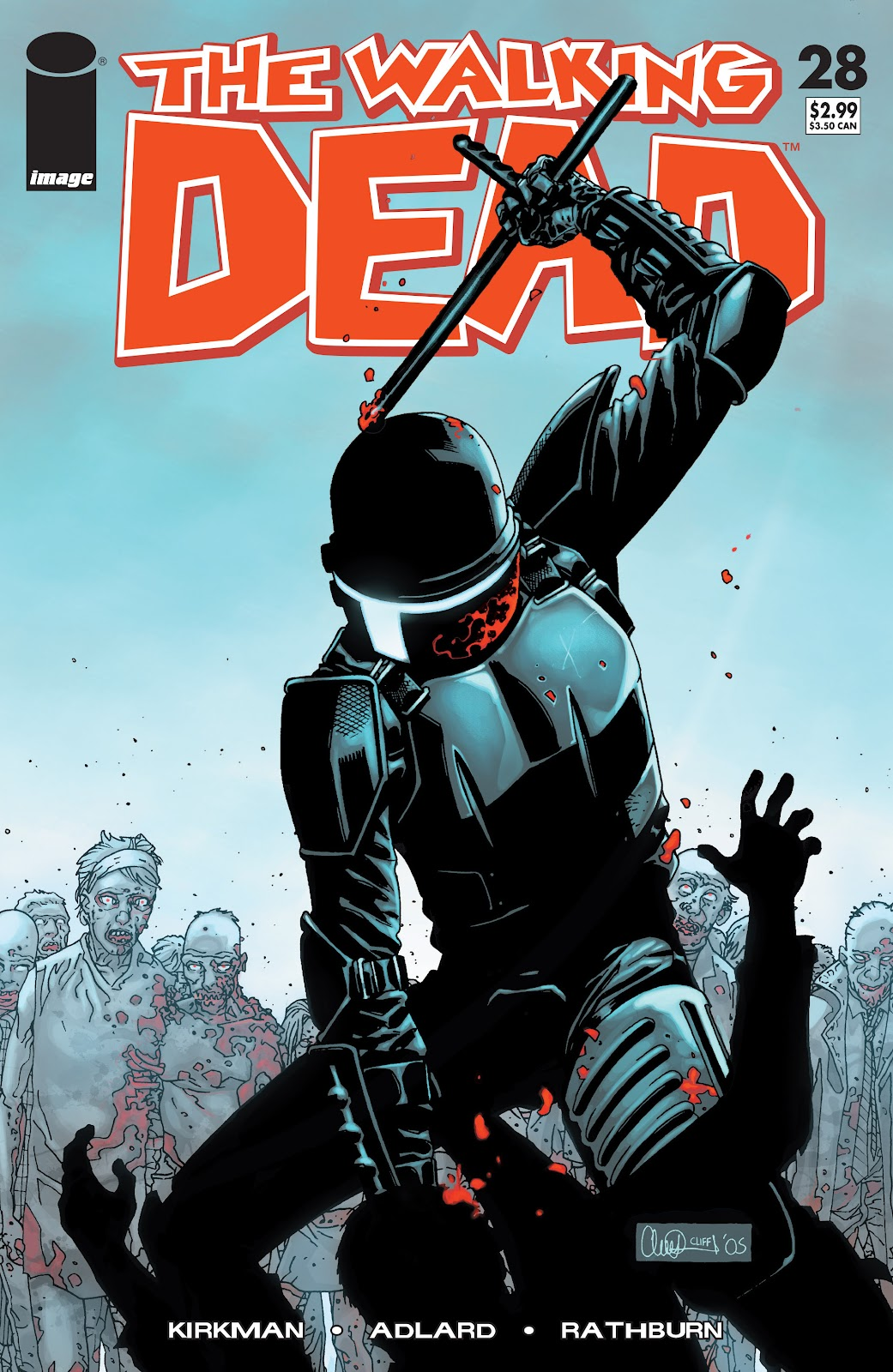 The Walking Dead issue 28 - Page 1