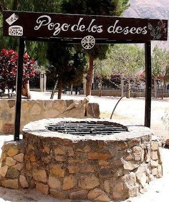 Foto del pozo de los deseos de Santa Rosa de Lima en Quives