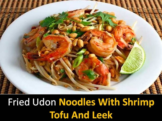 Delicious Pad Thai noodles with shrimp recipe