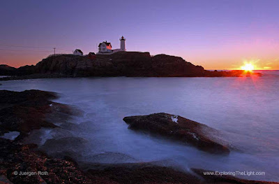 Nubble lighthouse photo images
