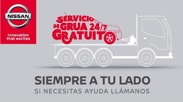 Nissan Ecuador lanza su servicio de grúa gratuito 24/7
