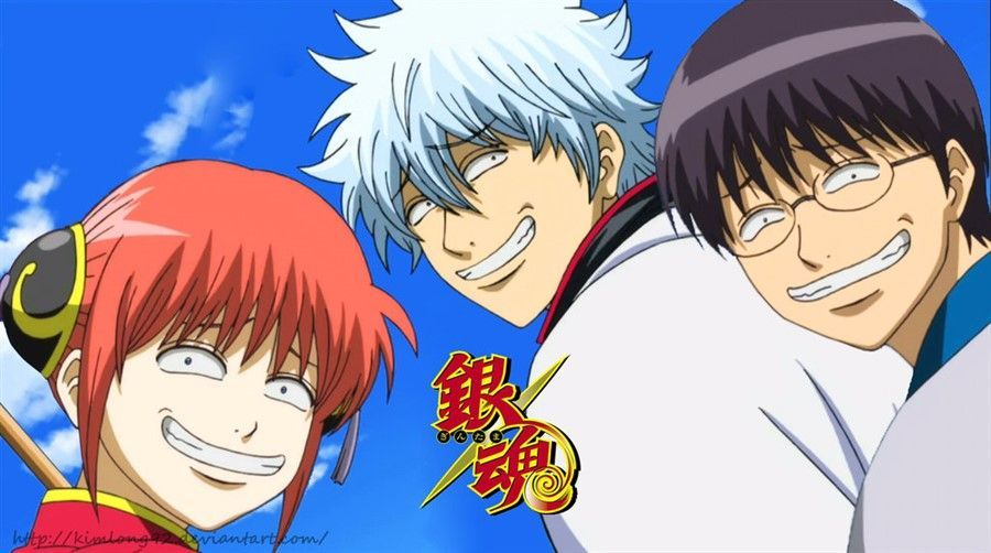 Gintama sebagai Anime Comedy Action terbaik