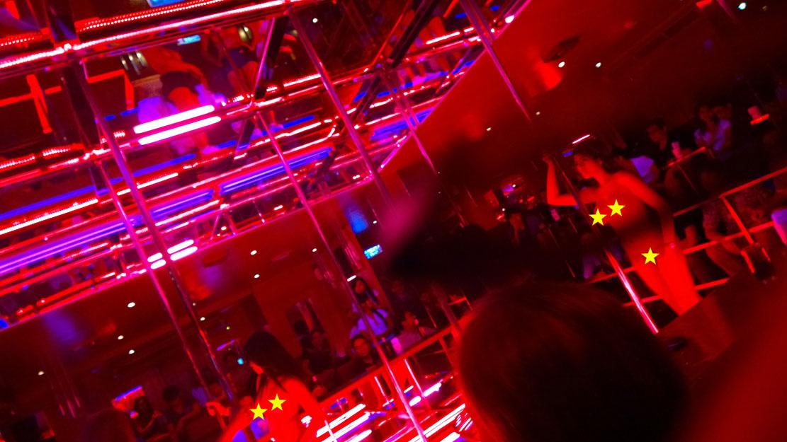 Baccara - Full Nude - Gogo Bar Bangkok  Jakarta100Bars -4522