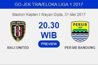 Bali United vs Persib Bandung Diprediksi Sengit