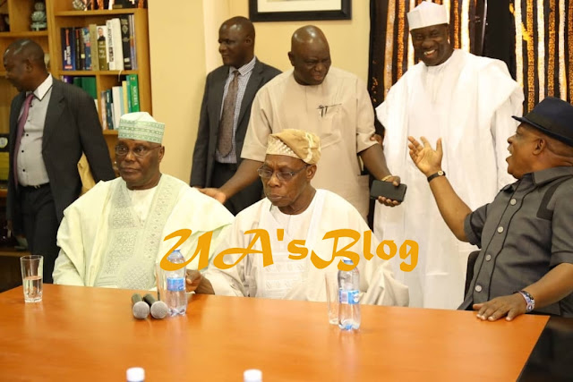 I Have Forgiven You Wholeheartedly, Obasanjo Tells Atiku
