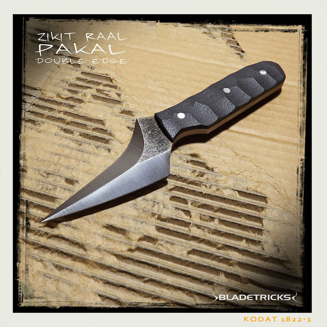 Best daily carry tactical fighting knife by knife maker Bladetricks