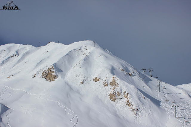 skigebiet samnaun ischgl silvretta aren - kuhstall ischgl - showarena ischgl
