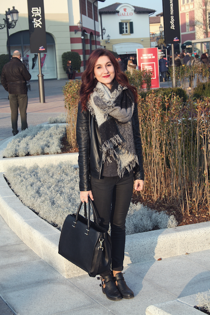 Mon look pour la journée shopping en Italie